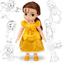 Куклы Бель в детстве Дисней