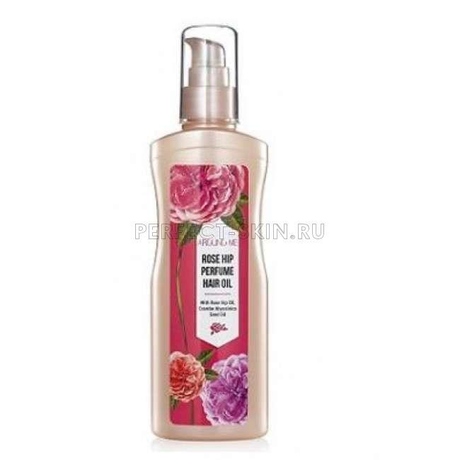 Welcos Rose Around me Rose Hip Perfume Hair Oil
