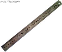Железная линейка 60 см