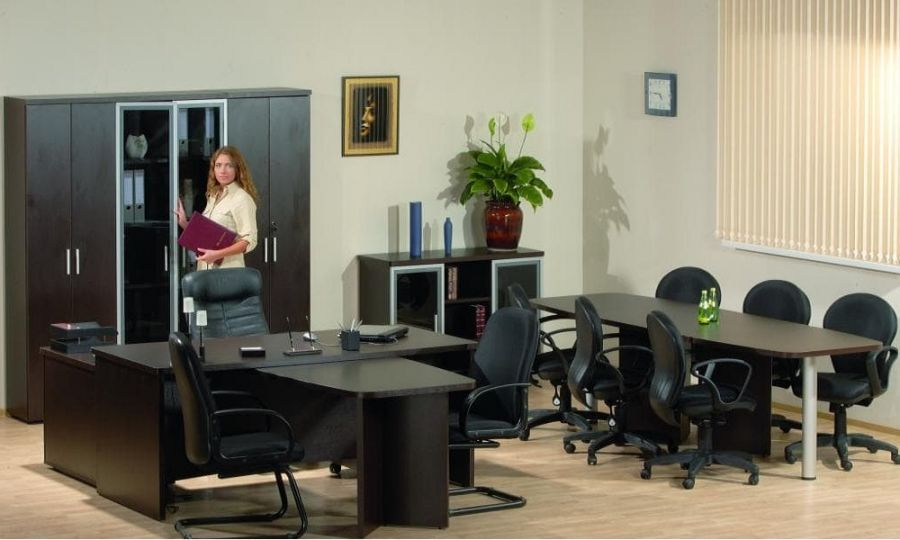 Набор мебели для руководителей «Цезарь» (Кабинет)(7 предметов)