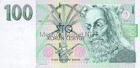 Банкнота Чехия 100 крон 1995 г