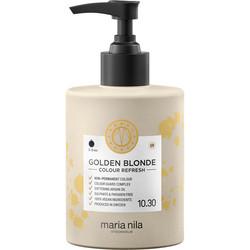 Тонирующая питательная маска для волос Golden Blonde 10.30 (золотой блонд) Maria Nila  300 мл