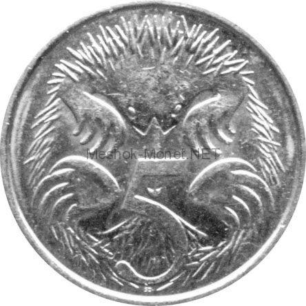 Австралия 5 центов 2001 г.