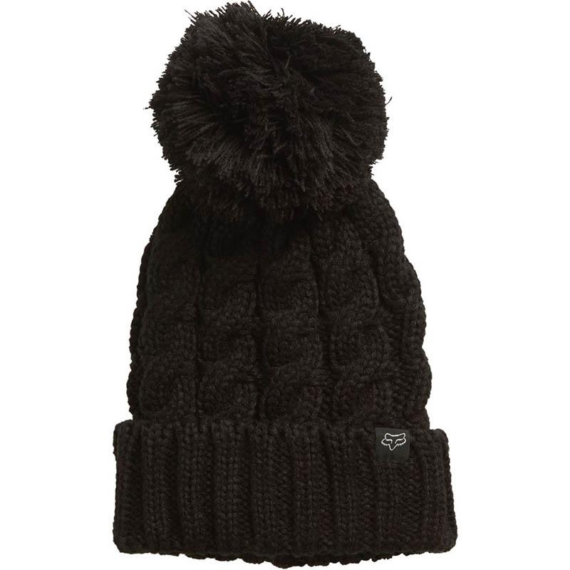 Fox - Valence Beanie Black шапка женская, черная