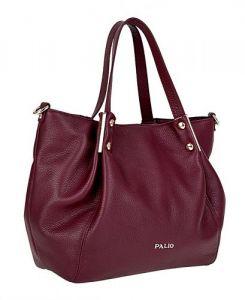Итальянская бордовая сумка