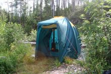 """Палатка для бани мобильной """"Берендей"""""""