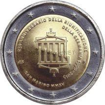 Сан-Марино 2 евро 2015 Объединение Германии (буклет)