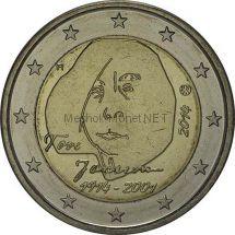 Финляндия 2 евро 2014 Туве Янсон