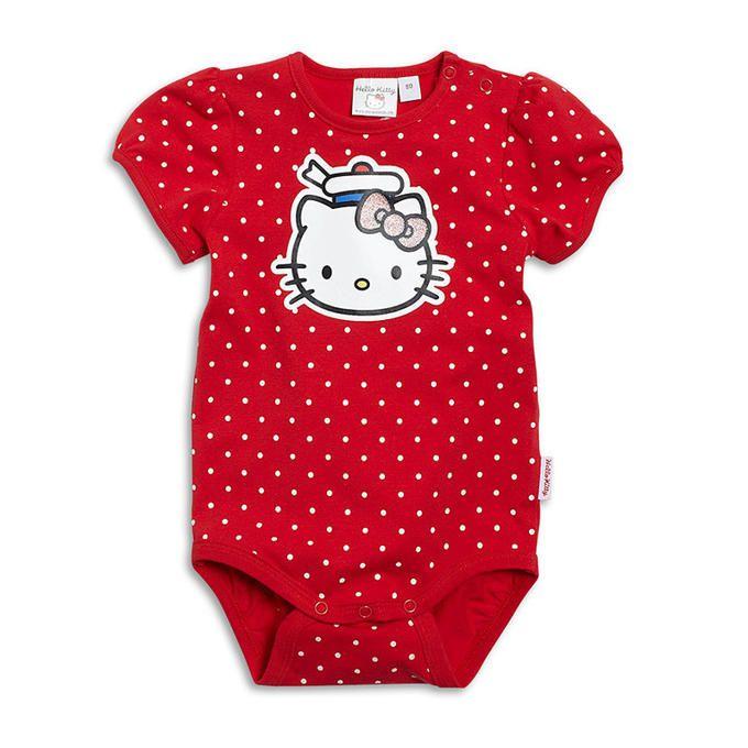 Боди красное Hello Kitty