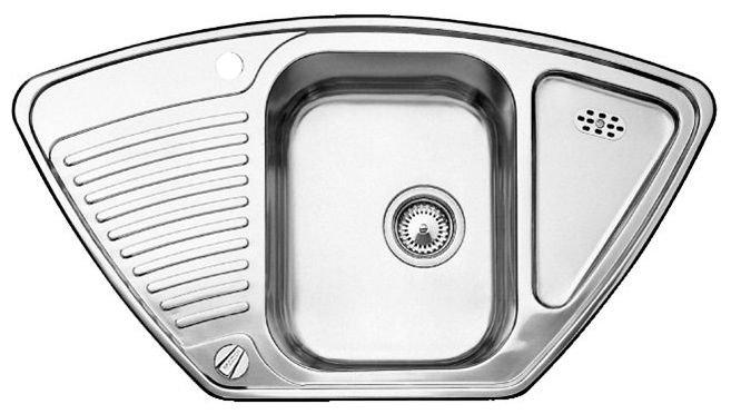 Кухонная мойка Blanco Tipo 9E сталь матовая (511582)