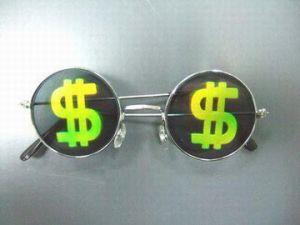 "Очки с голограммой ""Доллар"""