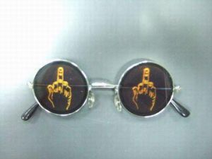 "Очки с голограммой ""Средний палец"""