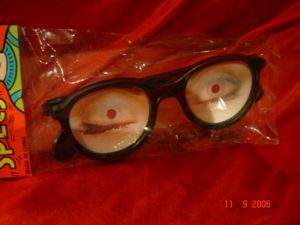Очки с мигающими глазами