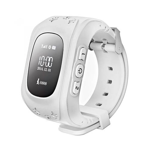 Умные детские часы с GPS Smart Baby Watch Q50 (белый)