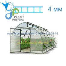 Теплица Митлайдер 3 х 6 с поликарбонатом 4 мм Polygal