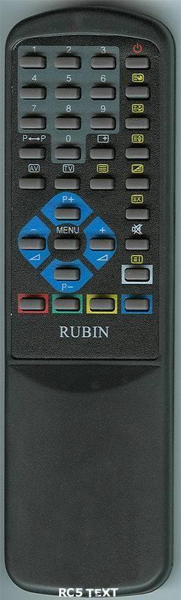 Rubin RC-500 (TV) с t/t (37M04-2, 37M04-3, 37M06, 37M06-2, 37M06T, 37M06T-2, 37S06T, 51M04-3, 51M06, 51M06T, 55M04-3, 55M06, 55M06T, 55M10-2, 55S06TP)