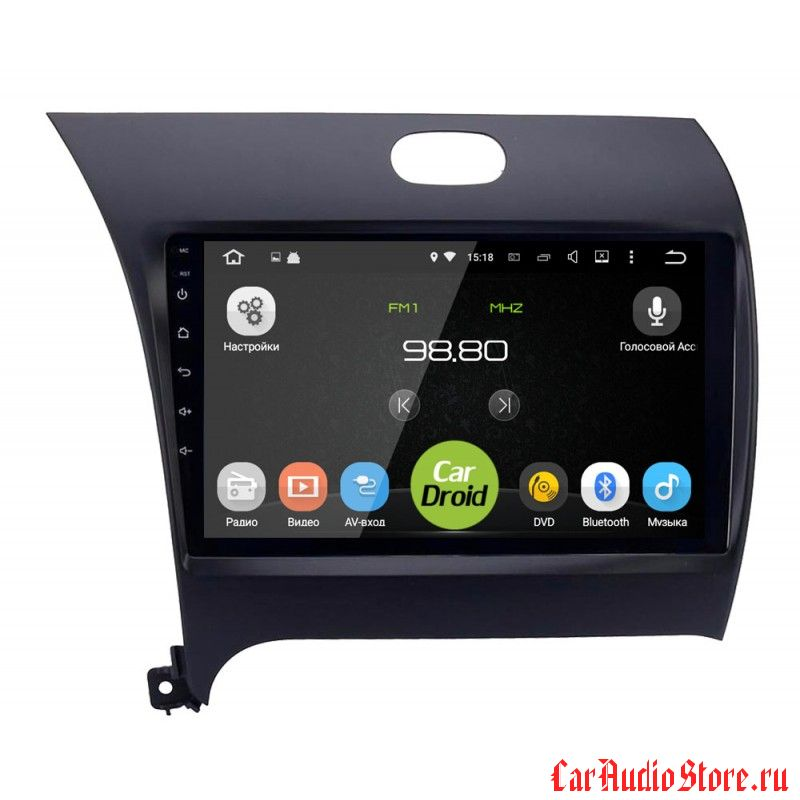 CarDroid RD-2316F для KIA Cerato 3 (Android 6.0)