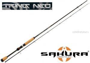 """Спиннинг Sakura Trinis Neo Spin TNS 6.6"""" X 2- MH (198 см 7-28 гр)"""