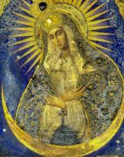 Остробрамская икона Божией Матери (копия старинной)