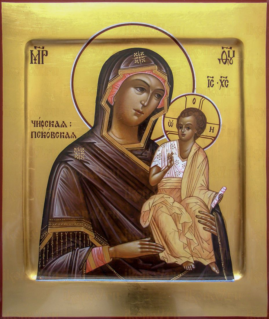 Икона Чирская (Псковская) икона Божией Матери