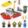 Конструктор Lepin City Пожарный катер 02057 (Аналог LEGO City 60109) 461 дет