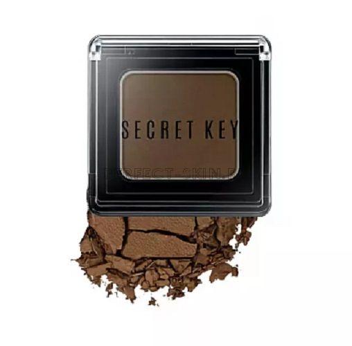 Secret Key Eye Fitting Forever Single Shadow Bitter Choco Brown 3,8g