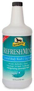 Absorbine Refreshmint, релаксирующий шампунь с мятой. Идеален после тренировок