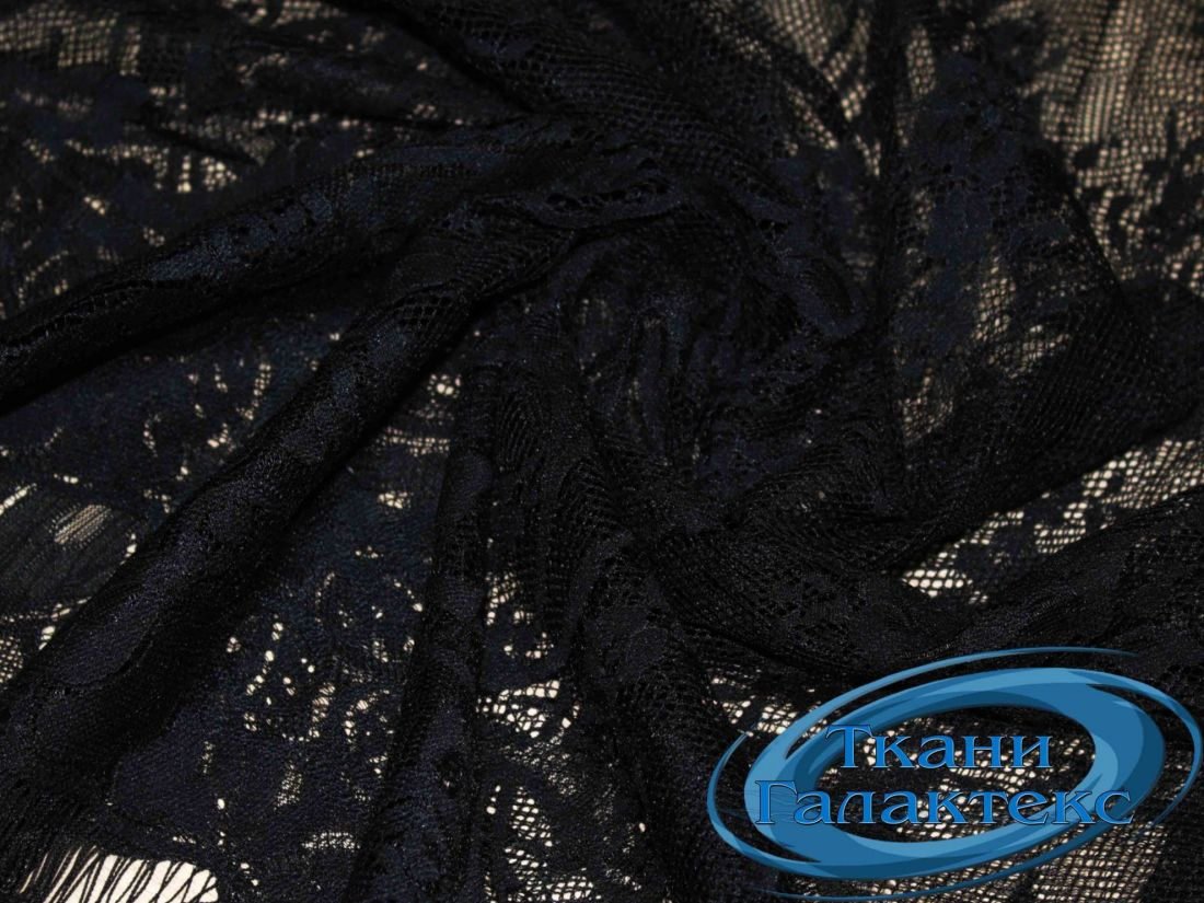 Гипюр VT-9639/C#2 черный