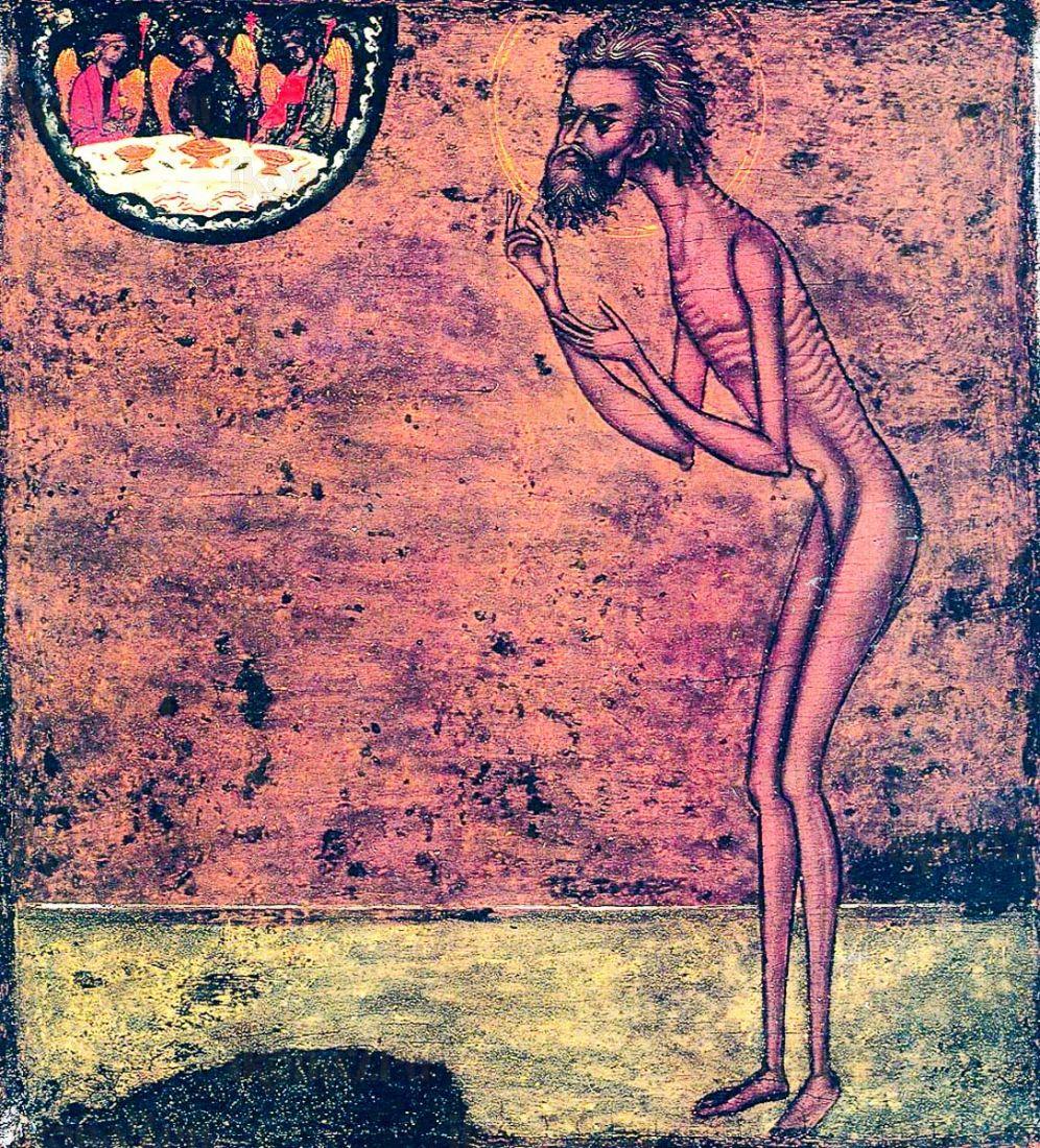 Икона Василий Блаженный (копия старинной)