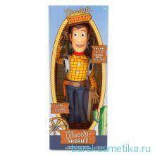 Кукла шериф Вуди Дисней говорящий 40 см