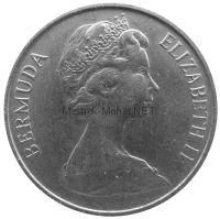 Бермудские острова 5 центов 1970 г.