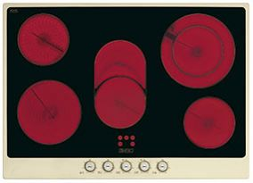 Cтеклокерамическая варочная панель SMEG P775PO