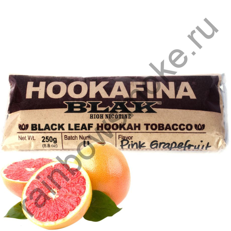 Hookafina Black 250 гр - Pink Grapefruit (Розовый Грейпфрут)