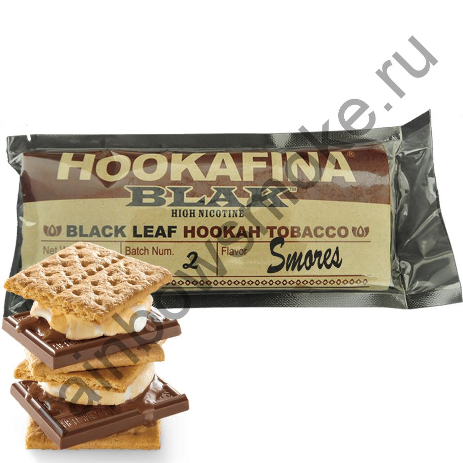 Hookafina Black 250 гр - Smores (Американские Вафли Смор)