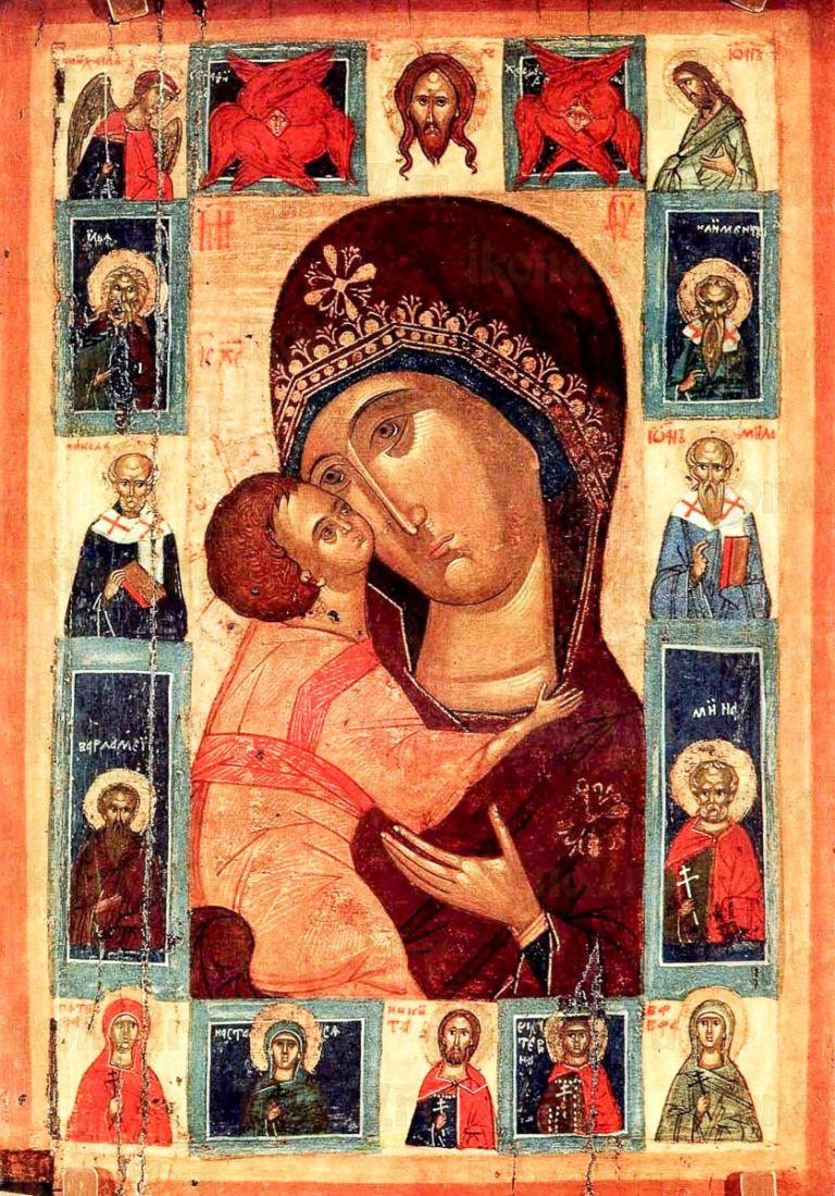 Игоревская икона БМ (копия старинной)