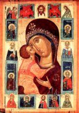 Игоревская икона Божией Матери (копия старинной)