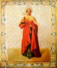 Икона Александра Римская (копия 19 века)