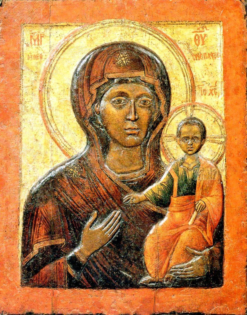 Влахернская икона Божией Матери (копия 15 века)