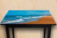 Наклейка на стол - Лазурь и охра | Купить фотопечать на стол в магазине Интерьерные наклейки