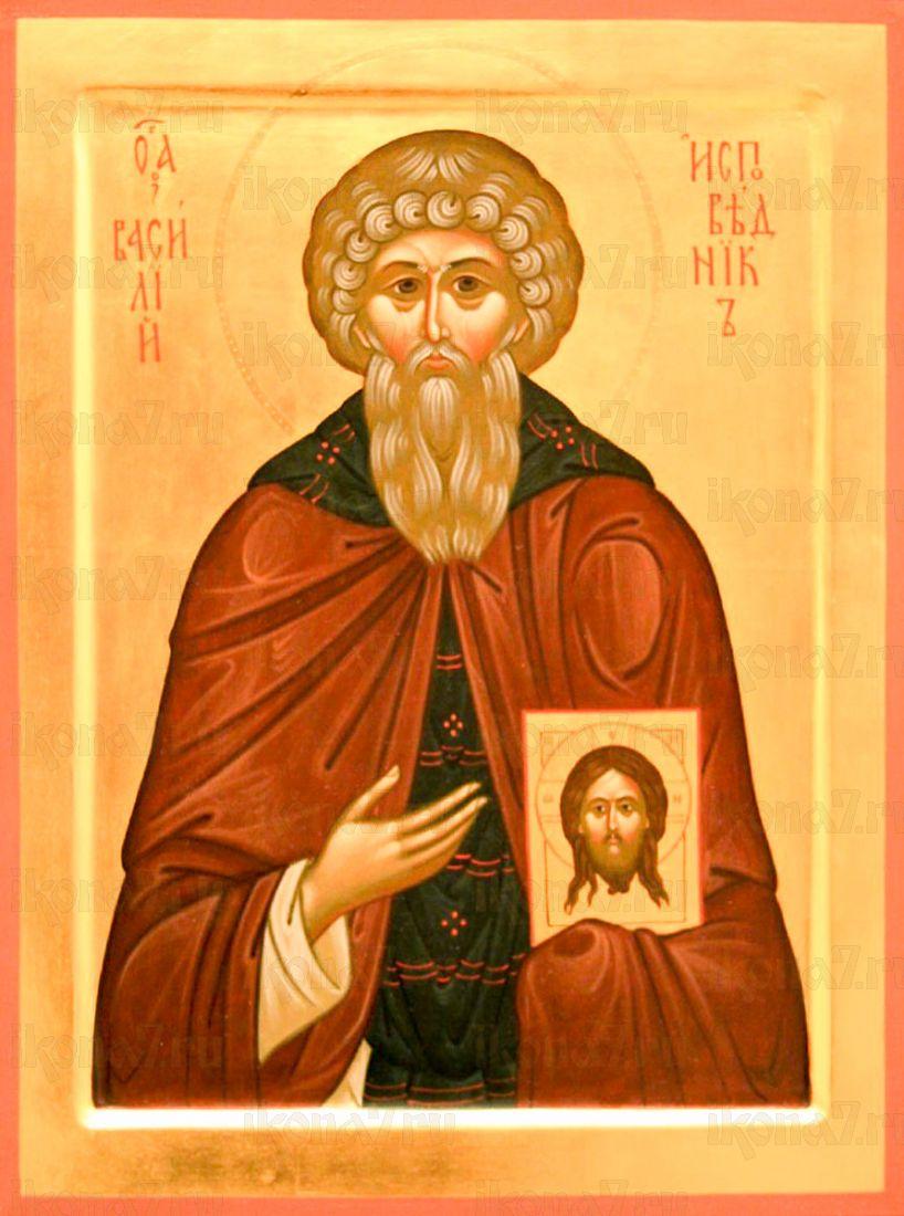 Икона Василий Исповедник