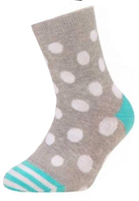 Носки для девочки Горох