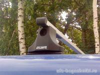 Багажник на крышу Renault Kangoo 2008-..., Атлант, прямоугольные дуги