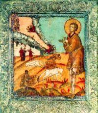 Икона Артемий Веркольский (копия 17 века)