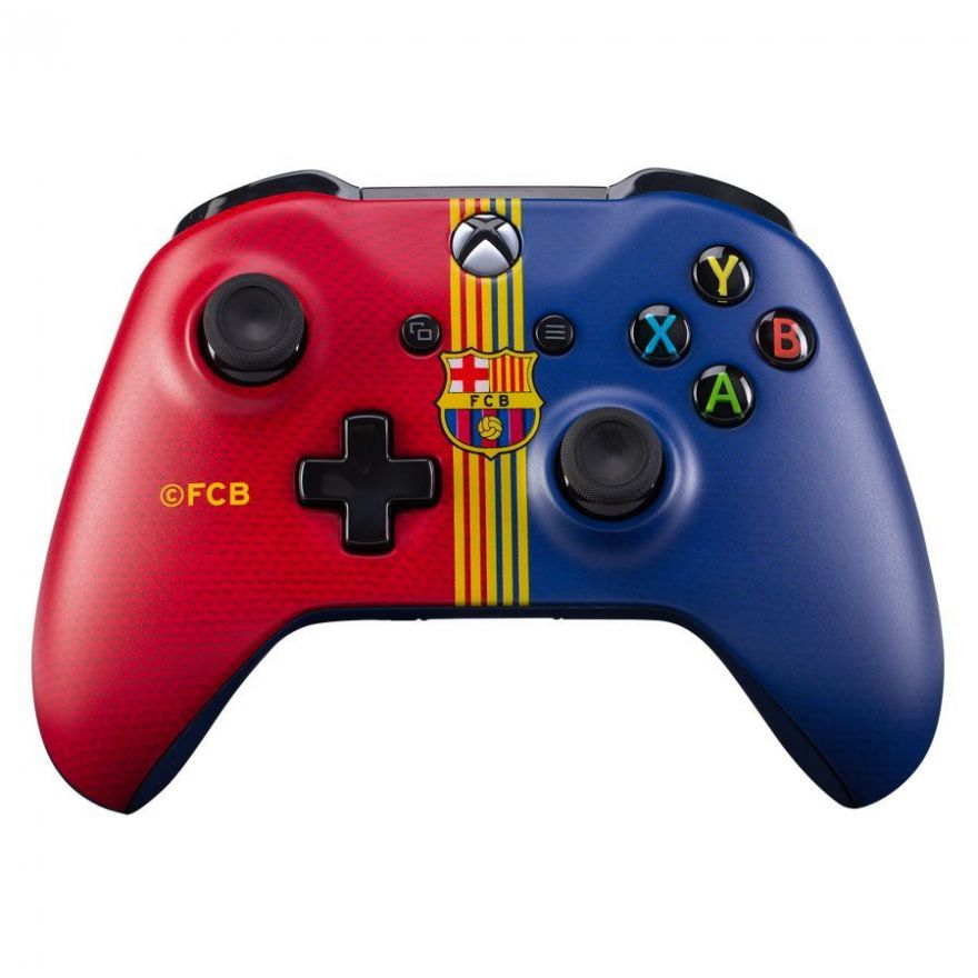 Геймпад Microsoft Xbox One Wireless Controller FC Barcelona