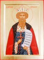 Ярослав Муромский (икона на дереве)