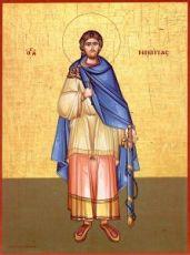 Икона Никита Готфский (копия стариной)