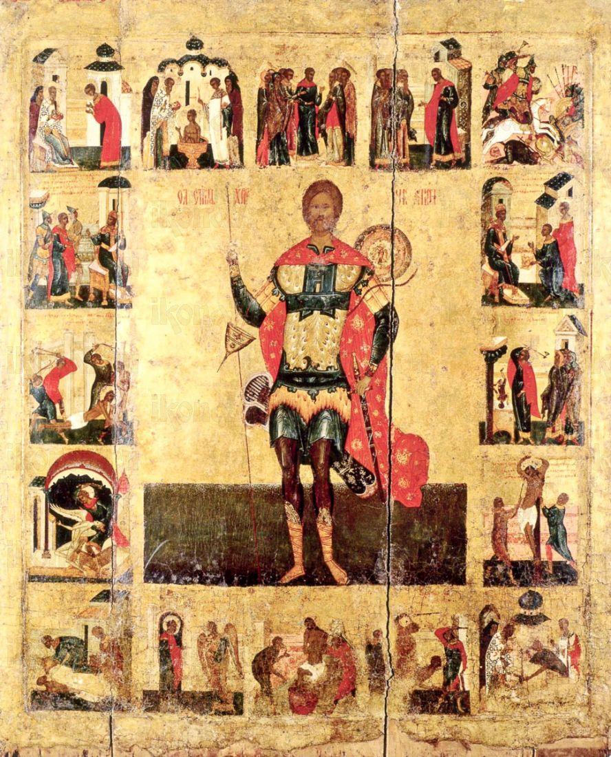 Икона Никита Готфский (копия 16 века)