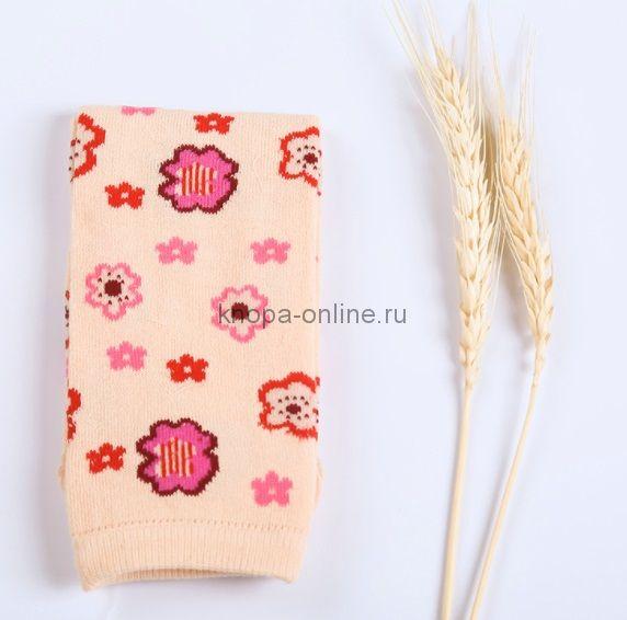 Гетры - Розовая полянка