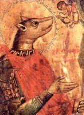 Икона Христофор Псеглавец (копия 17 века)