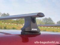 Багажник на крышу Renault Kangoo 2008-..., Атлант, аэродинамические дуги
